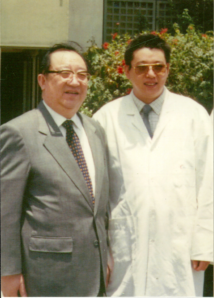 Zhu Qingsheng, Vice Minister of the Chinese Ministry of Health