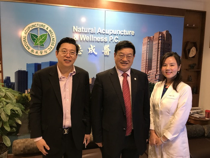 Sep. 19, 2017, Dr. Liu, Baoyan, The President of World Federation of Acupuncture Society